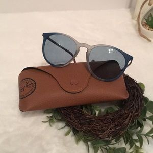 🔹Ray-ban®  Blue and brown Sunglasses 🕶